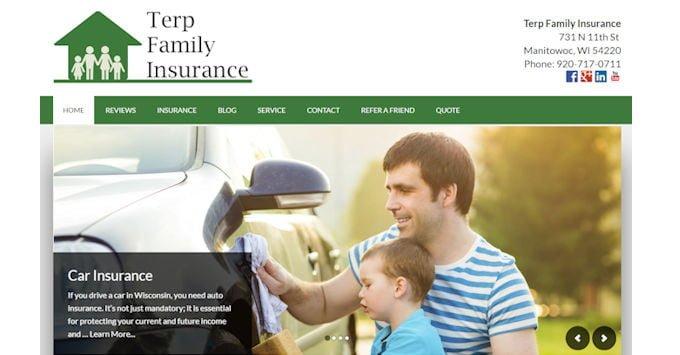 Terp Famliy Insurance Website